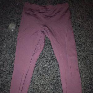 Lululemon fleece full length leggings